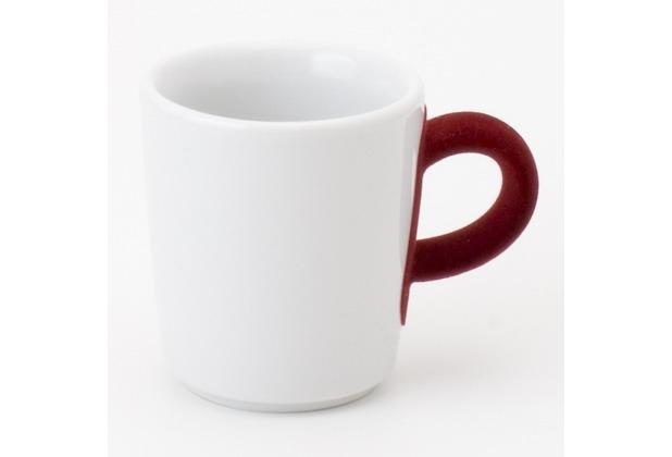 Kahla Five Senses Espresso-Obertasse 0,09 l touch! rot