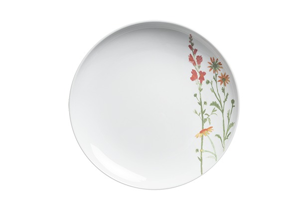 Kahla Five Senses Essteller 27 cm Wildblume rot/gelb