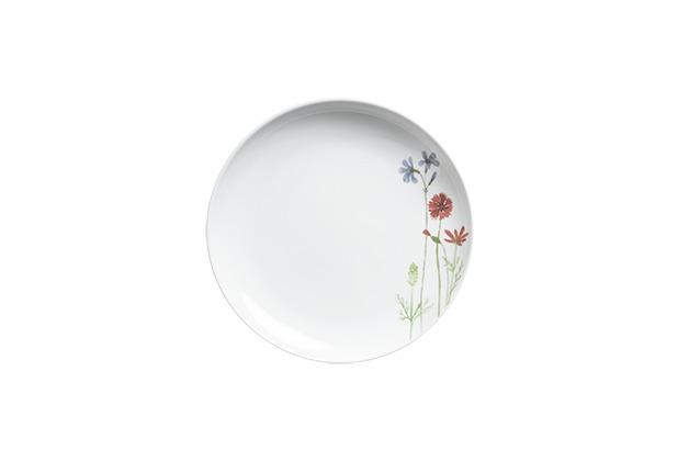 Kahla Five Senses Frühstücksteller 22 cm Wildblume blau/rot