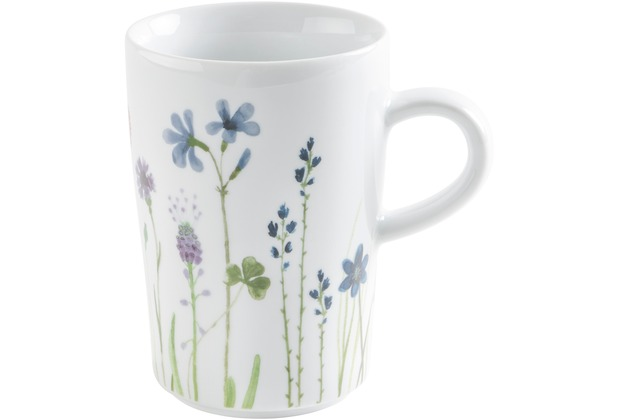 Kahla Five Senses Macchiato-Obertasse 0,35 l Wildblume blau/rot
