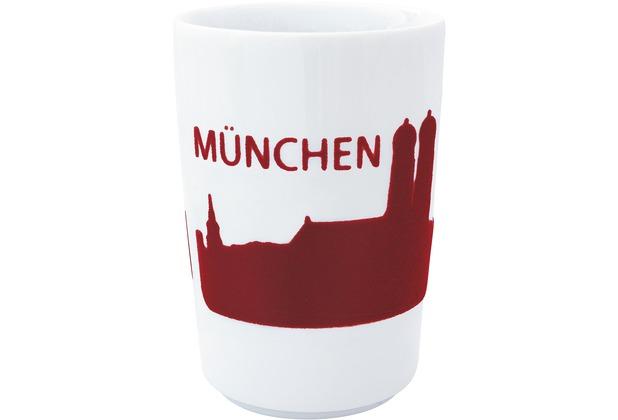Kahla Five Senses Maxi-Becher 0,35 l touch! rot München