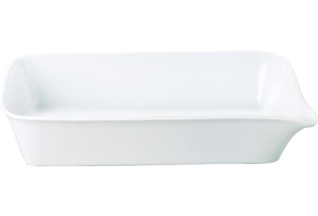 Kahla Five Senses Midi-Backform 28x19 cm weiß
