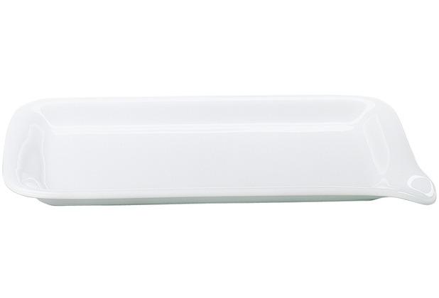 Kahla Five Senses Midi-Menüplatte 28x19 cm weiß