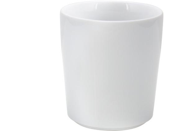Kahla Five Senses Mini-Becher 0,09 l weiß