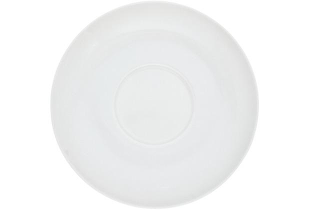 Kahla Glatt Untertasse 15 cm weiß