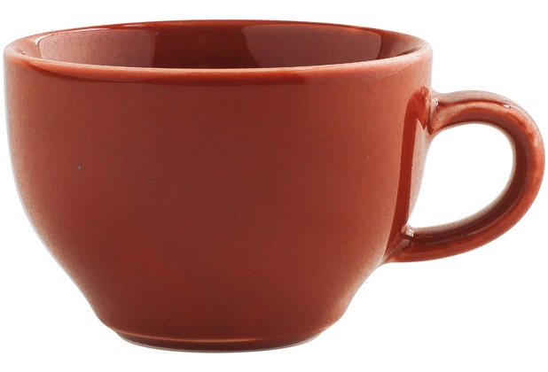 Kahla Homestyle Cappuccino International-Obertasse 0,23 l siena red