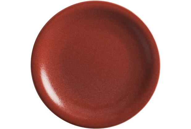 Kahla Homestyle Teller, flach 21,5 cm siena red