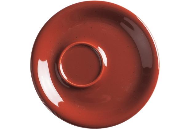 Kahla Homestyle Untertasse 16 cm siena red