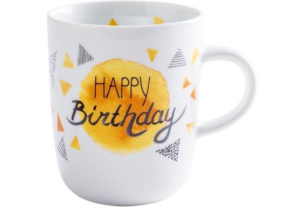 Kahla Pronto Becher 0,35 l Happy Birthday
