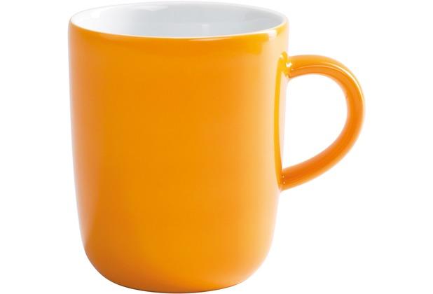 Kahla Pronto Becher 0,35 l orange-gelb