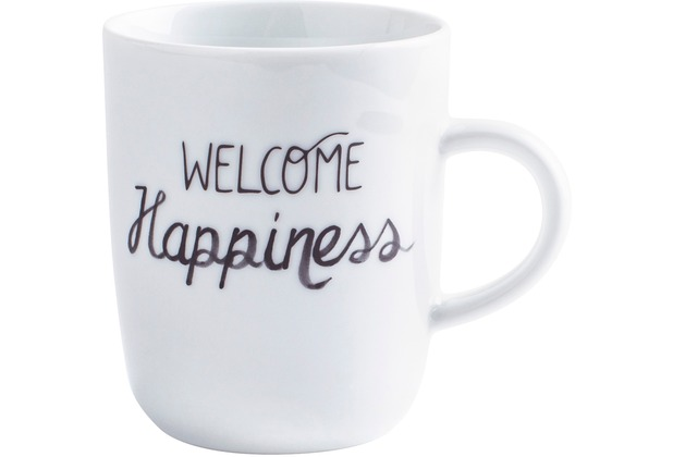 Kahla Pronto Becher 0,35 l Welcome Happiness
