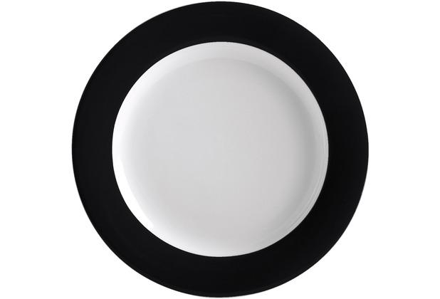 Kahla Pronto Brunch-Teller 23 cm schwarz