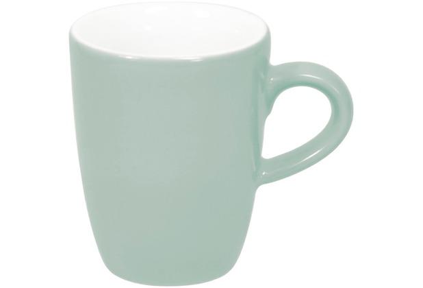 Kahla Pronto Espresso-Obertasse hoch 0,10 l mint-grau