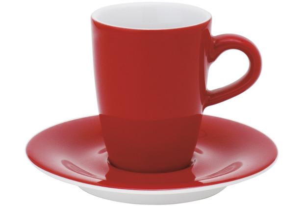 Kahla Pronto Espresso-Obertasse hoch 0,10 l rot