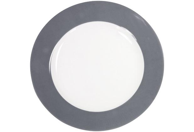 Kahla Pronto Frühstücksteller 20,5 cm grau