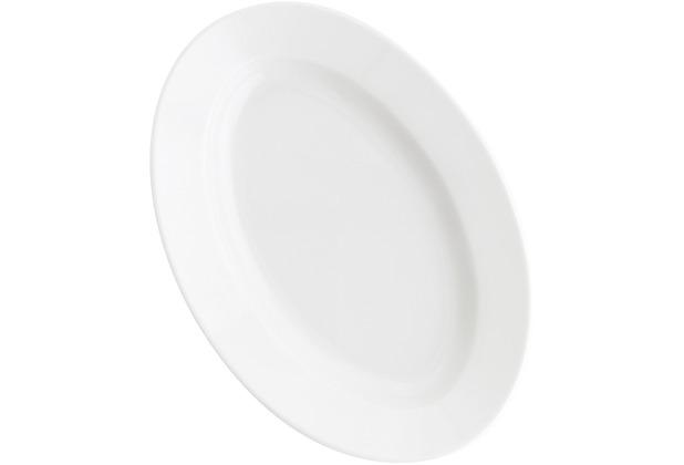 Kahla Pronto Platte, oval 28 cm weiß