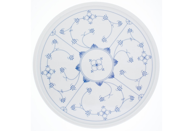 Kahla Tradition Blau Saks Platte/Tortenplatte, 31 cm