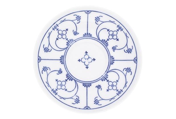Kahla Tradition Blau Saks Untertasse 14 cm