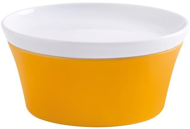 Kahla Update Schale 14 cm + Deckel 14 cm orange-gelb