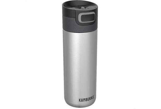 Kambukka Isolierbecher Etna Silver silber Thermobecher 500ml