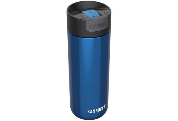Kambukka Isolierbecher Olympus Swirly Blue blau Thermobecher 500ml