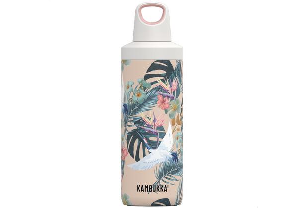Kambukka Isolierflasche Reno Insulated Paradise Flower Paradies-Blumen Thermo-Flasche 500ml