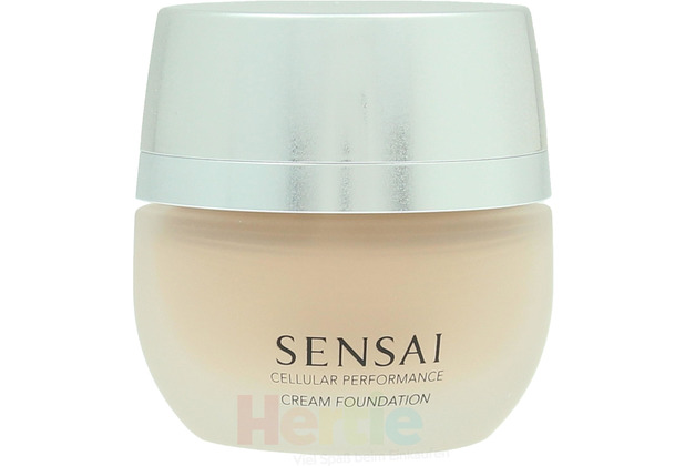 Kanebo Sensai Cp Cream Foundation SPF15 #CF13 Warm Beige 30 ml