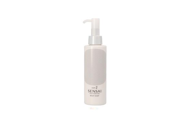 Kanebo Sensai Silky Pur Step 2 Milky Soap Dry To Very Dry Skin 150 ml