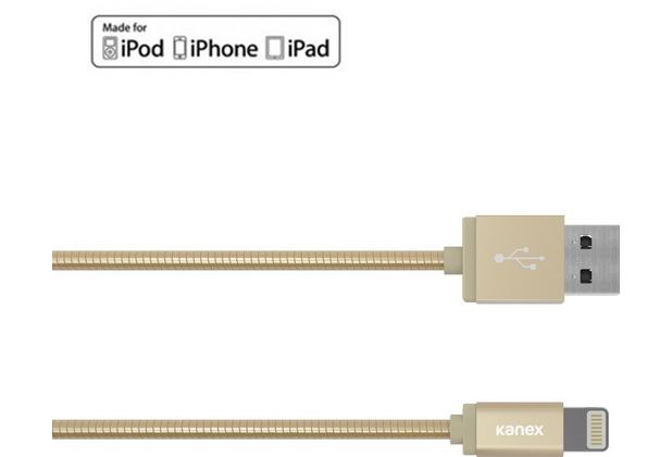 Kanex DuraFlex Charge/Sync-Kabel - Lightning auf USB-A - 1,2m - gold
