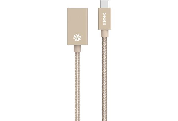 Kanex USB-C auf USB 3.0 Adapter - gold