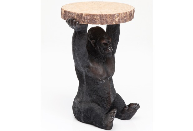 Kare Design Beistelltisch Animal Gorilla Ø37cm