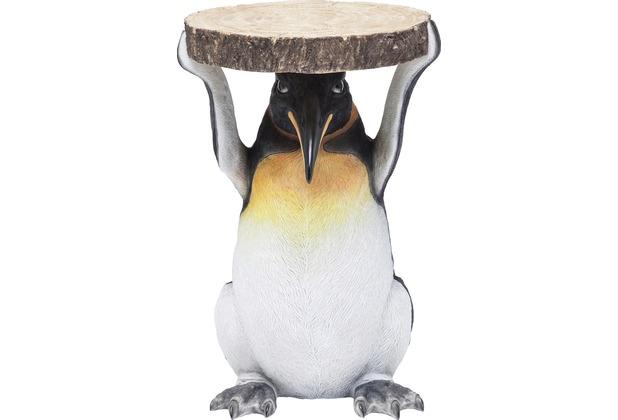 Kare Design Beistelltisch Animal Mr Penguin Ø33cm