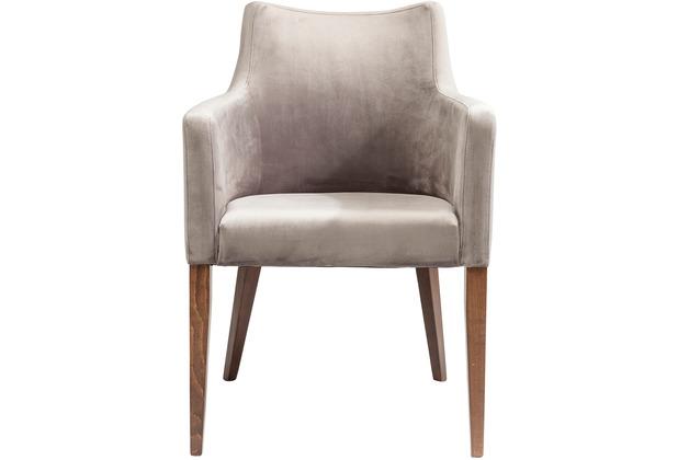 Kare Design Armlehnstuhl Mode Velvet Grey