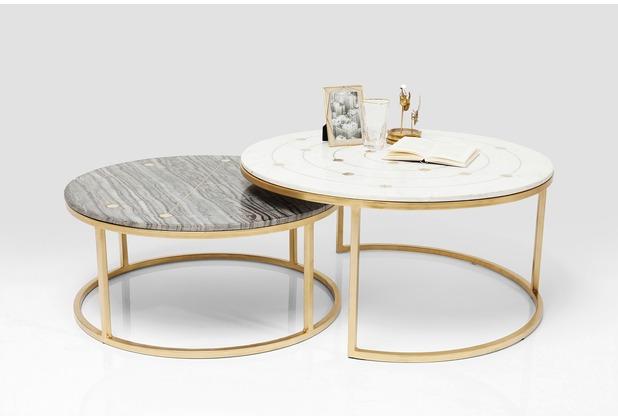 Kare Design Beistelltisch Mystic Round (2/Set) Ø90cm