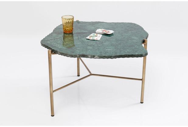 Kare Design Couchtisch Piedra Grün 76x72cm