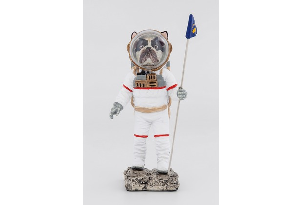 Kare Design Deko Figur Space Dog 26cm