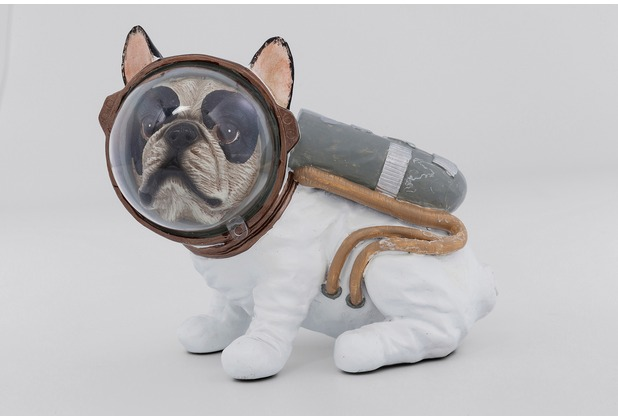 Kare Design Deko Figur Space Dog Sitting 18cm