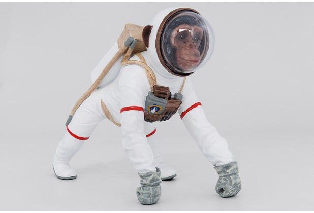 Kare Design Deko Figur Space Monkey 32cm