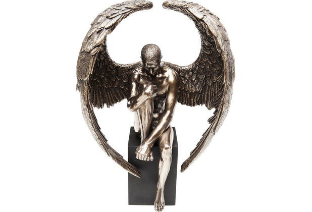 Kare Design Deko Objekt Nude Sad Angel Klein Skulptur