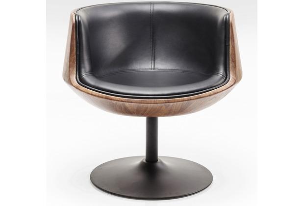 Kare Design Drehstuhl Club 54 Walnut