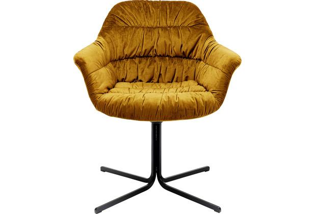 Kare Design Drehstuhl Colmar Gelb