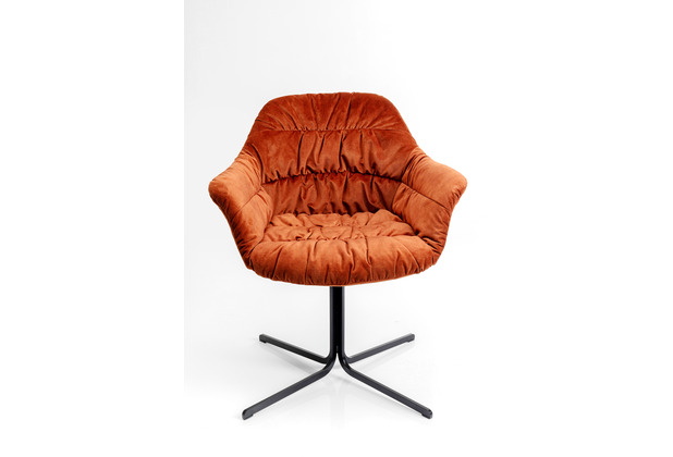 Kare Design Drehstuhl Colmar Rot