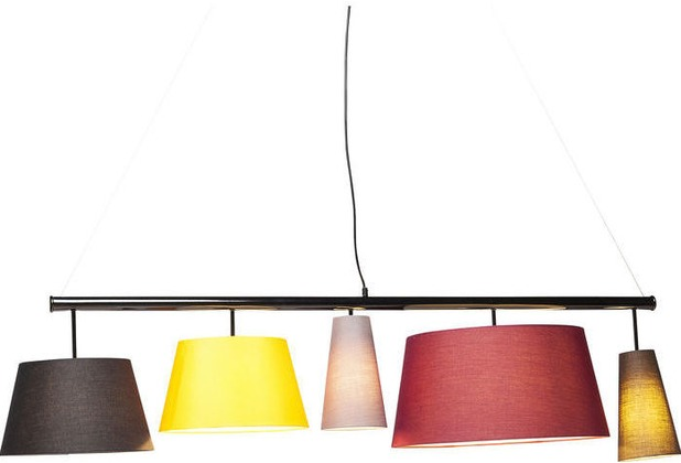Kare Design Hängeleuchte Parecchi Colore 140cm