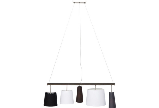 Kare Design Hängeleuchte Parecchi Silber 100cm