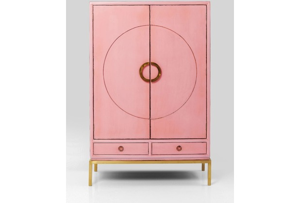 Kare Design Schrank Disk Pink