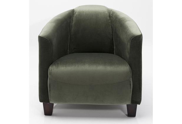 Kare Design Sessel Cigar Lounge Grün
