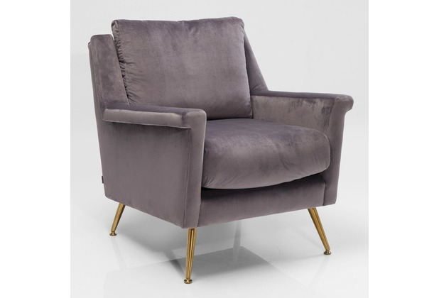Kare Design Sessel San Diego Grau