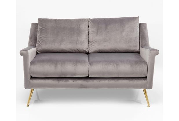 Kare Design Sofa San Diego 2-Sitzer Grau 145cm