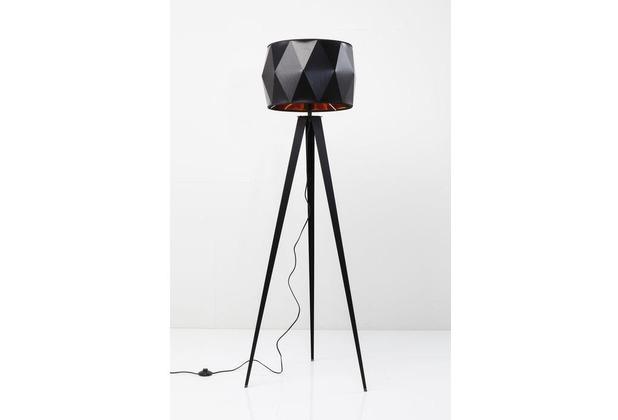 Kare Design Stehleuchte Triangle Tripod Matt Schwarz