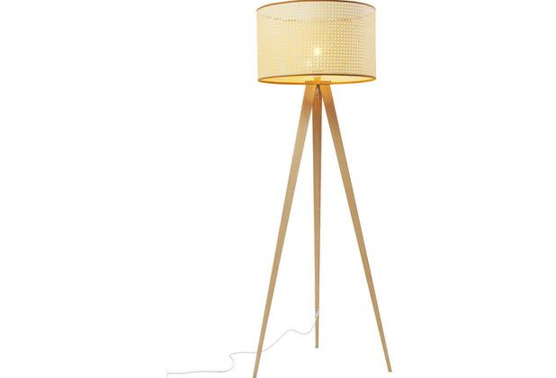 Kare Design Stehleuchte Tripot Nature, Dreifuß-Stehlampe